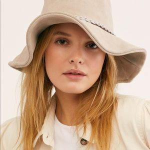 Suede Free People Bucket Hat